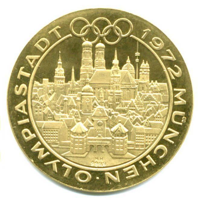 10 Dm Silber Gedenkmünzen Olympiade München Heubach Edelmetalle